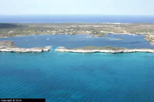 150402 Hatchet Bay arial view