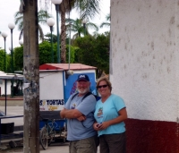 Marty and Sue at San Blas