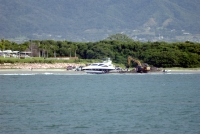 Beached boat at Nuevo Vallarta 2
