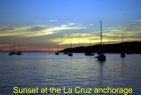 La Cruz sunset 2