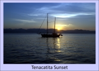Tenacatita sunset