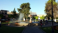 Morelia fountain