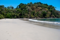 Backside beach at Manuel Antonio