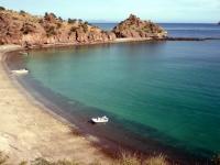 Panga beach at Agua Verde